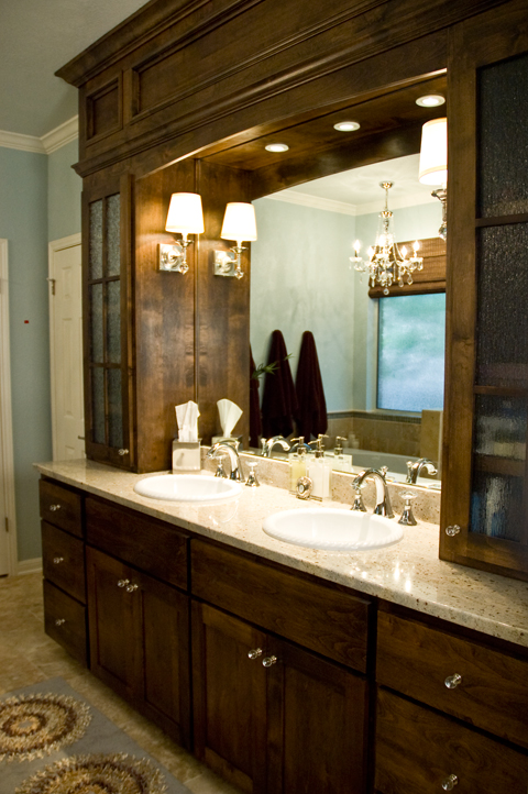 Circle C Bathroom Remodel Austin Interior Design By Adentro Designs