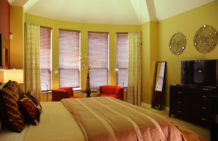 Contemporary master suite austin interior design by for Master bedroom designs 2012