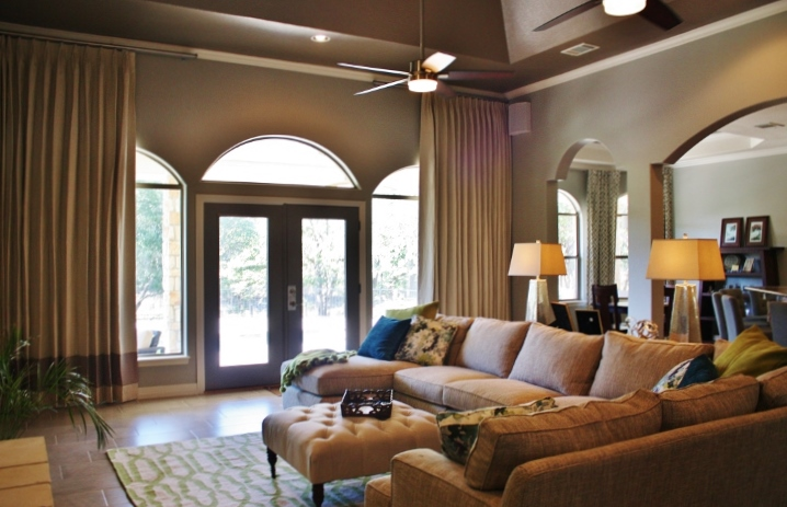 Georgetown Living Room Austin Interior Design By Adentro